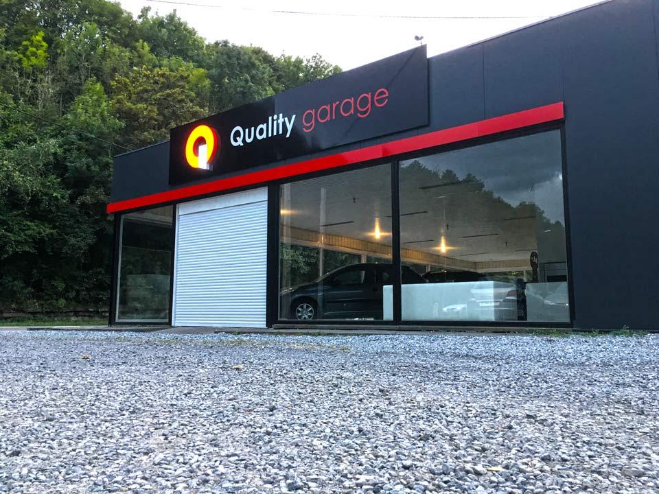 Enseigne Garage | INGRAO à Andenne
